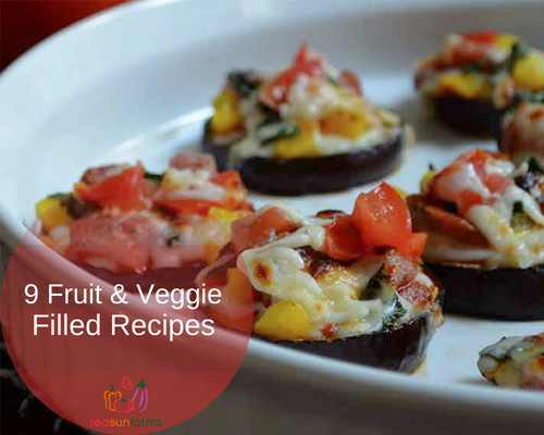 9 Fruit and Veggie-Filled Recipes