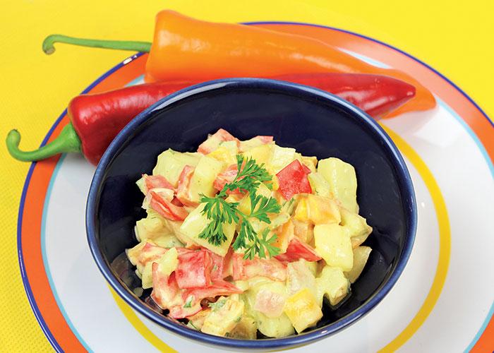 3 Pepper Potato Salad