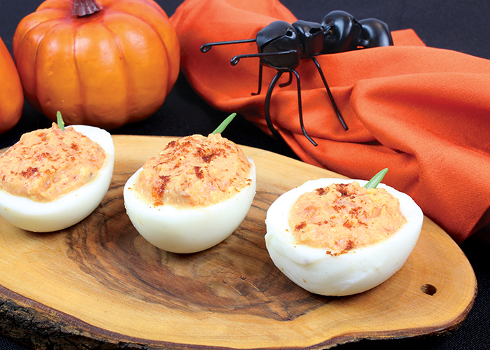 Deviled Pepper Eggs