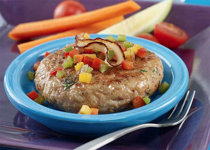 Chicken Patties & Veggie Spears