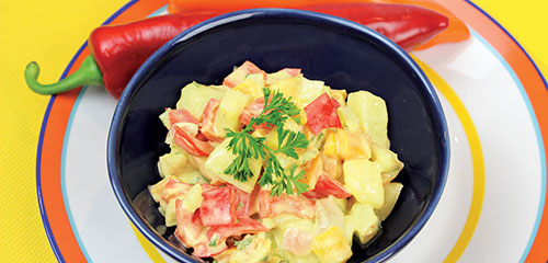 3 Pepper Potato Salad